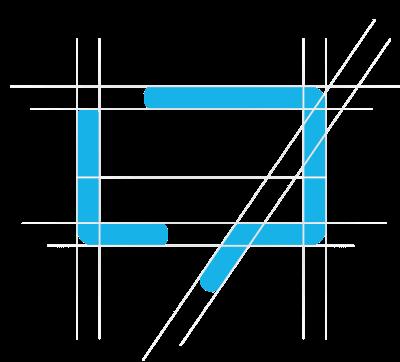 Levitate-Strategic-Communications_Public-Relations_Icon_Design_Letter-L_Speech-Thought-Talk-Bubble_Logo-Construction-Grid
